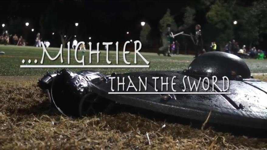 Mightier Than The Sword doco