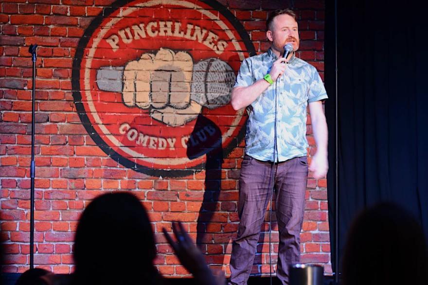 Gavin Ingham @ the Punchlines Comedy Club - www.gavin-ingham.com.jpg